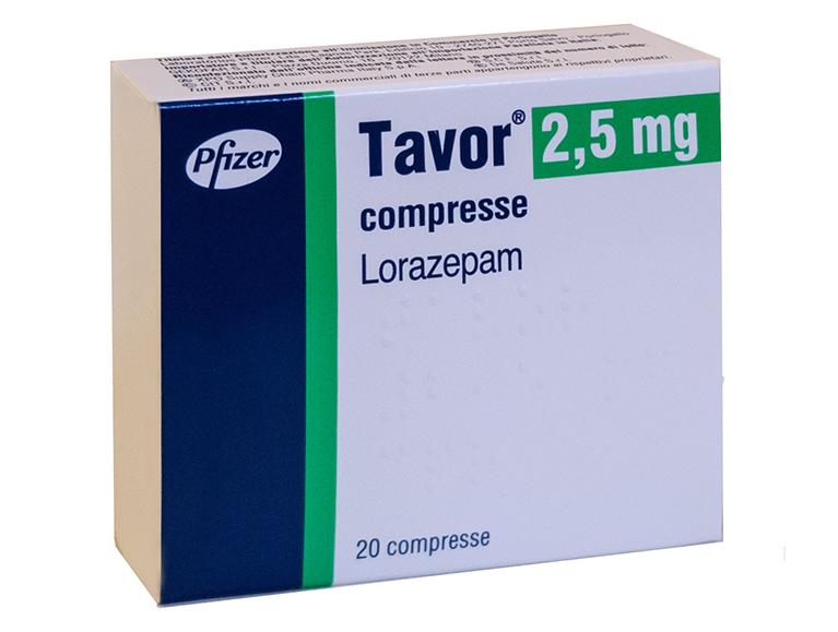Comprare Tavor (Lorazepam) 2.5 mg Senza Ricetta al Miglior